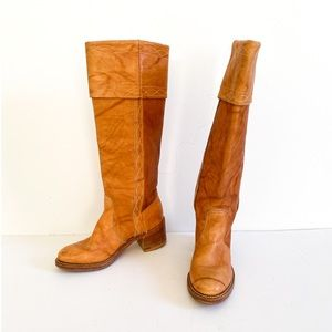 Vintage Dingo Acme tall shaft boots from 70's.
